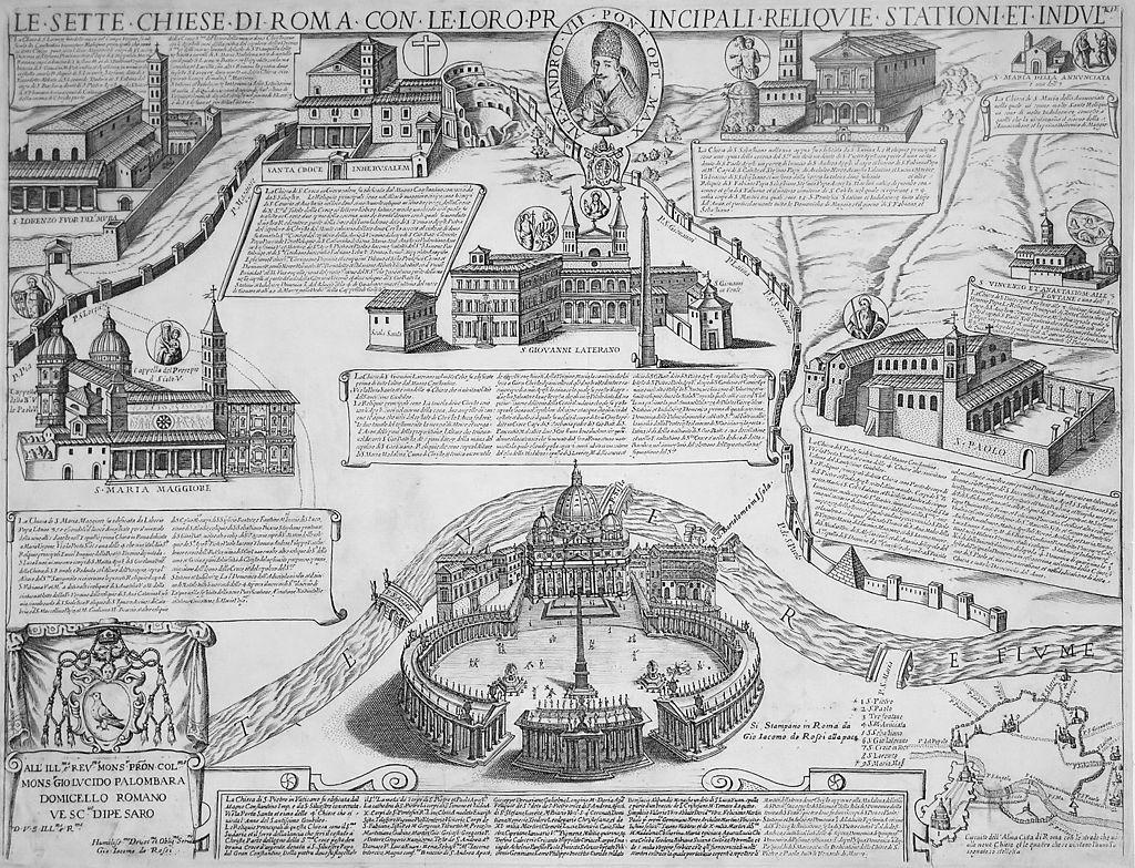 семь паломнических базилик Рима