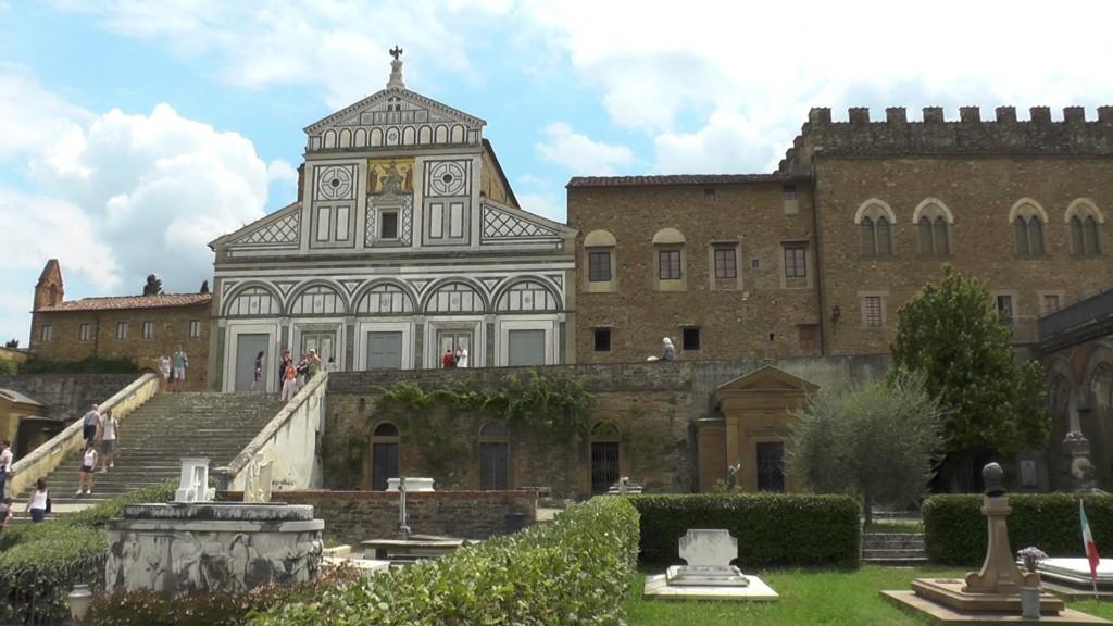Церковь святого мученика Мины на горе - Basilica di San Miniato al Monte