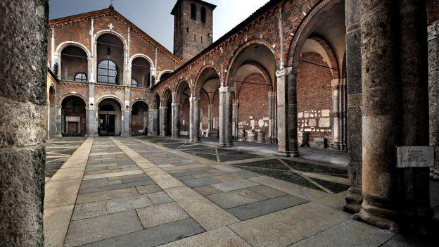 Базилика святителя Амвросия Медиоланского – Basilica di Sant'Ambrogio