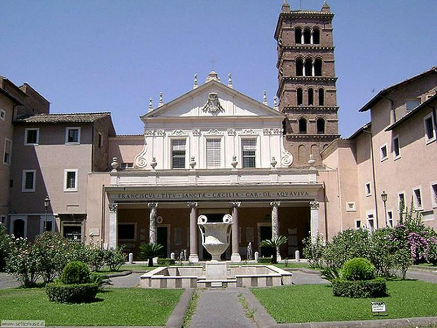 Базилика святой мученицы Цецилии - Basilica di Santa Cecilia in Trastevere