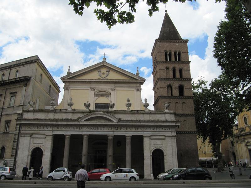 Базилика святого мученика Хрисогона - Basilica di San Crisogono