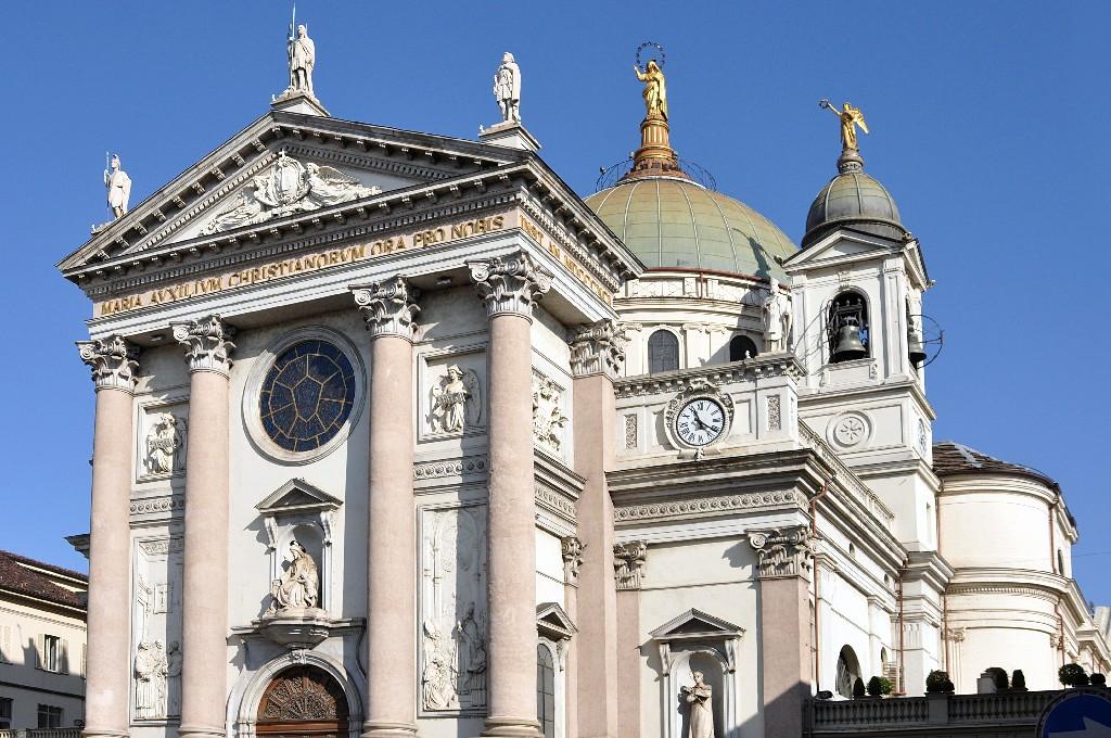 Церковь Божией Матери Помощницы - Basilica di Santa Maria Ausiliatricе