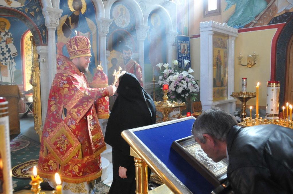 епископ Богородский Матфей совершил Божественную литургию в храме святой великомученицы Екатерины в Риме