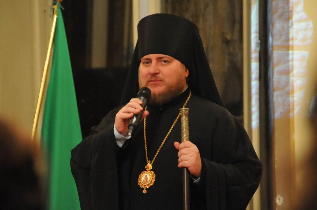 Епископ Матфей принял участие в презентации книги проф. Адриано Роккуччи
