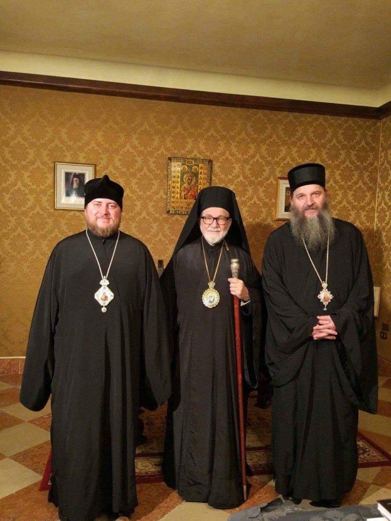 Седьмое ежегодное собрание православных епископов Италии