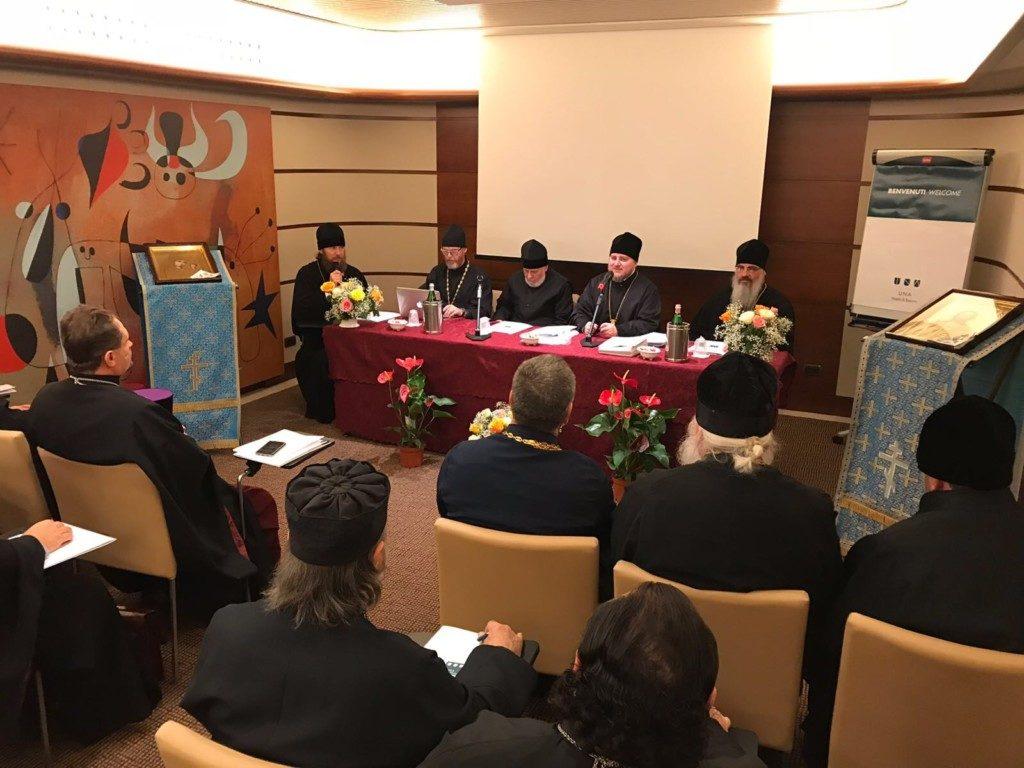 Ежегодное собрание духовенства Администрации приходов Московского Патриархата в Италии
