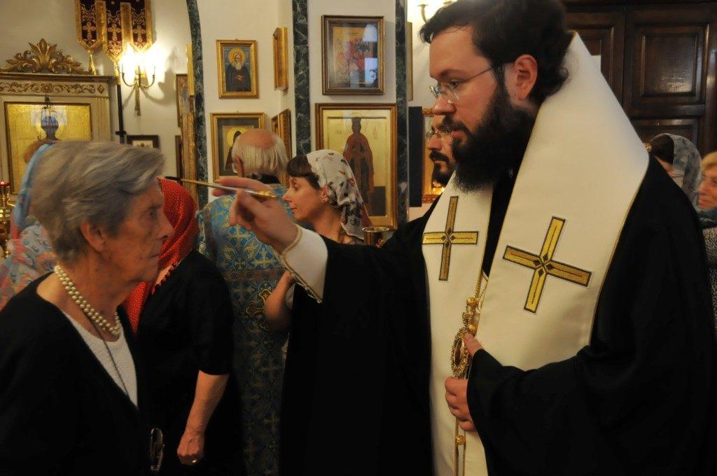 Архиепископ Антоний посетил Свято-Никольский приход г. Рима