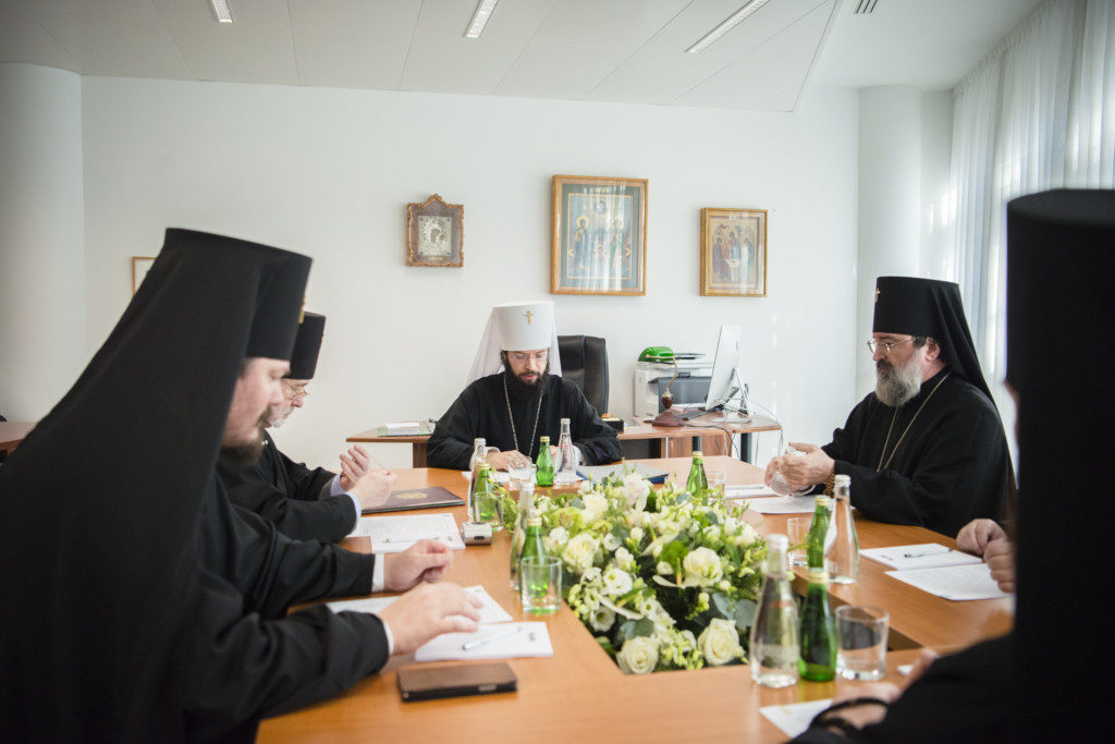 Состоялось первое заседание Синода Патриаршего Экзархата Западной Европы