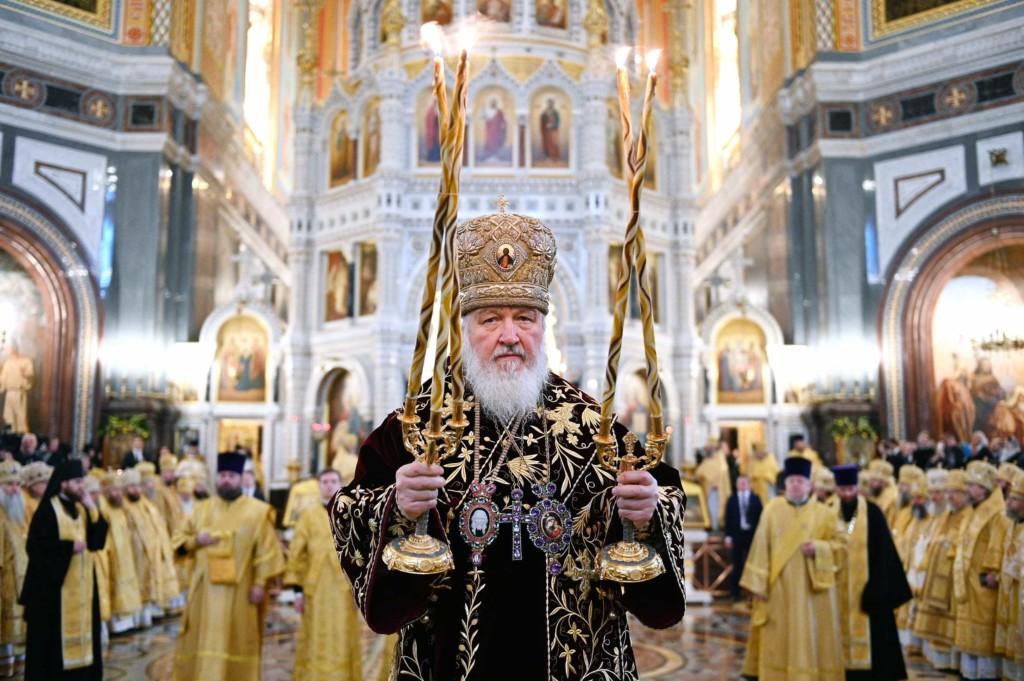 Митрополит Антоний принял участие в Патриаршем богослужении