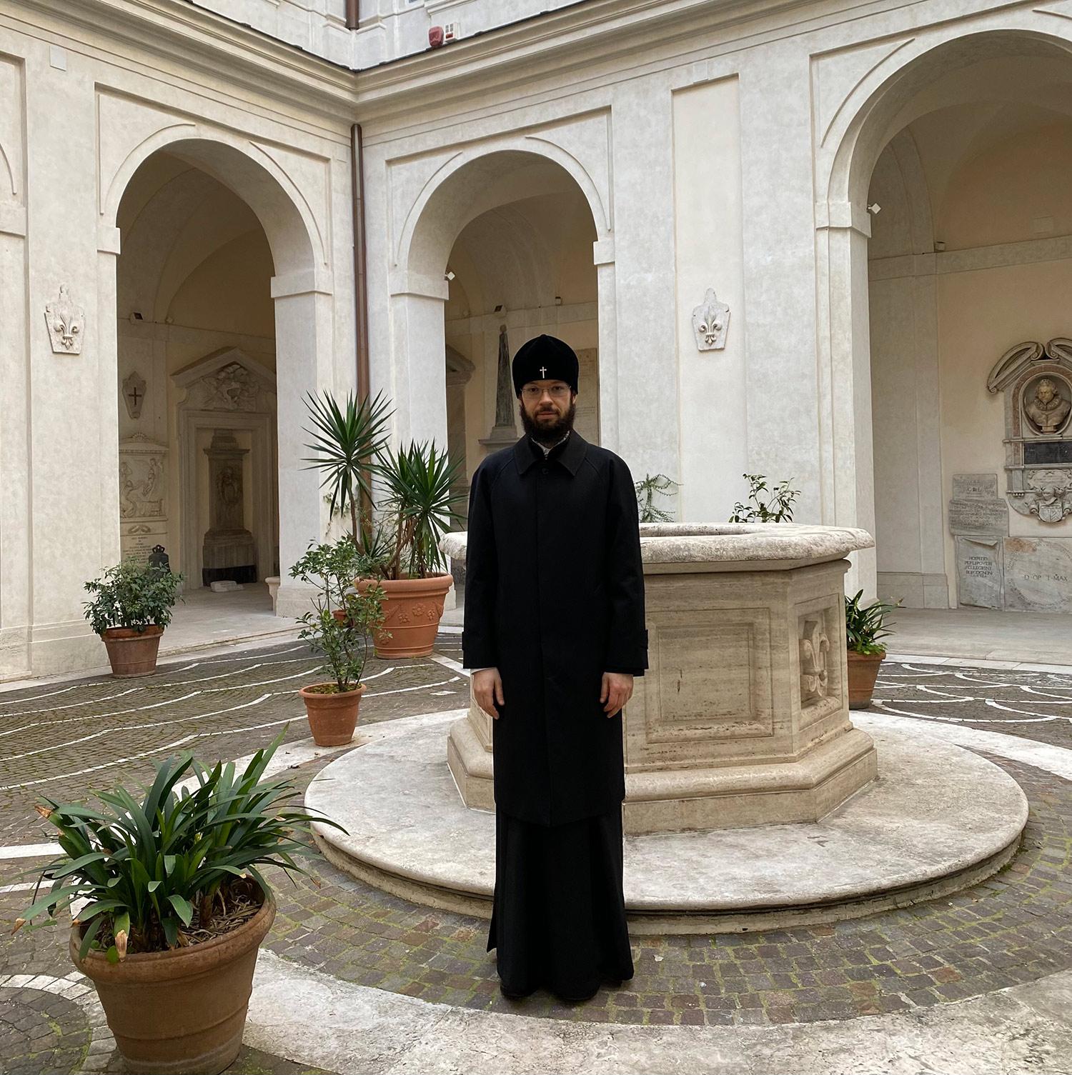 Посещение Французского колледжа в Риме