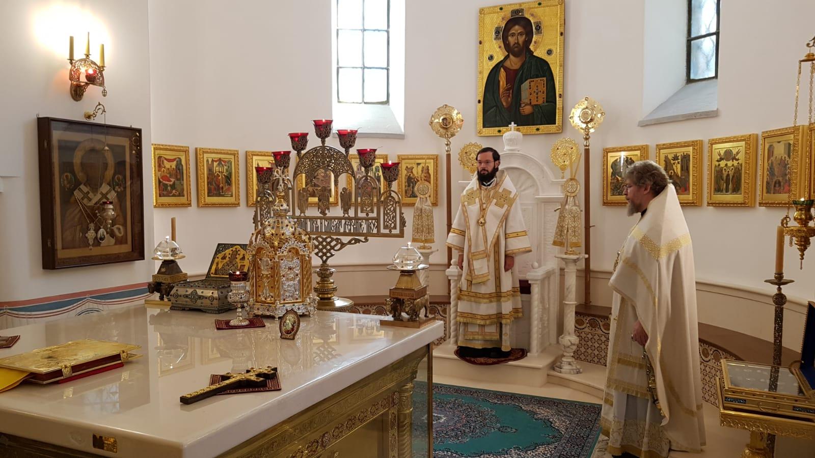 Митрополит Антоний посетил г.Бари
